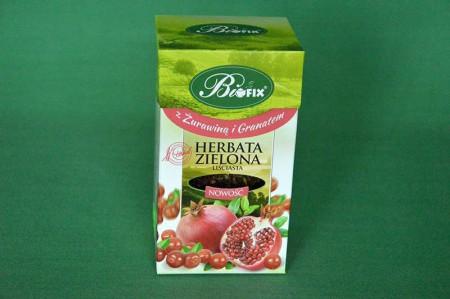 Herbata Zielona z Żurawiną i Granatem 100g