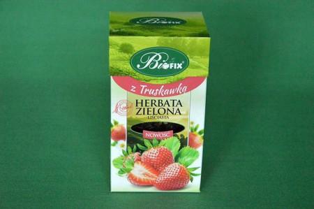 Herbata Zielona z Truskawką 100g