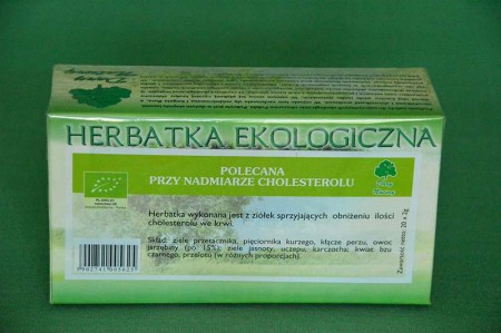 Herbata Cholesterol 40g
