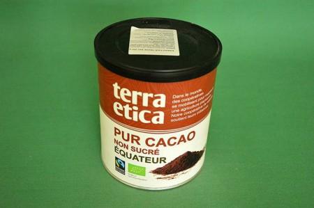 Czekolada do picia Terra Etica niesłodzone 250g