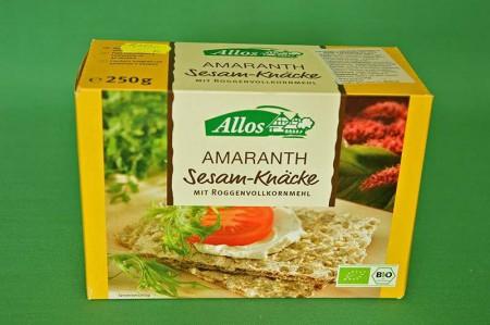 Pieczywo Chrupie Amarantus z Sezamem 250g