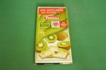 Biała Czekolada bez cukru z Kiwi 75g