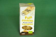 Ciastka Fun Cookies Kukurydziane 120g
