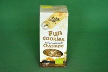 Ciastka Fun Cookies Owsiane 120g