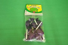 Lizaki bezglutenowe o smaku Czarnej Porzeczki 7x10g